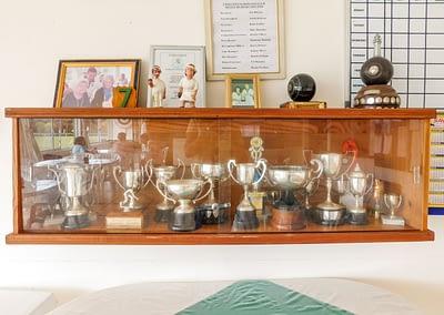 Umtentweni Bowling Club Trophy Case