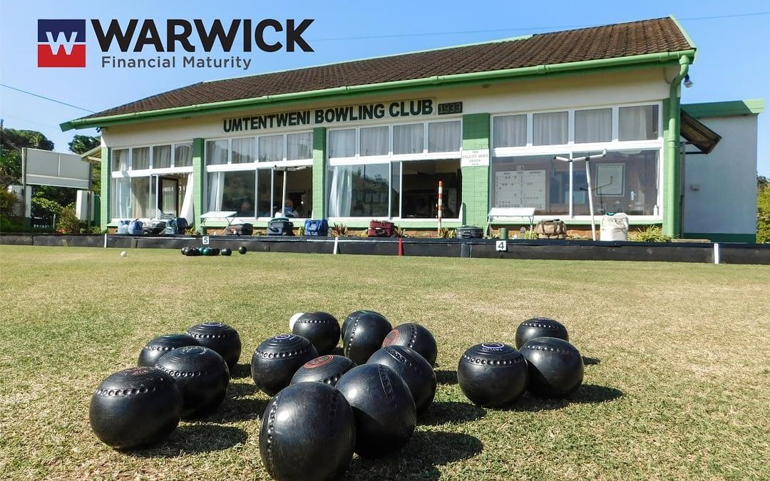 Umtentweni Bowling Club Warwick Day sponsored Warwick Financial Maturity
